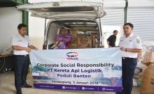KALOG Serahkan Bantuan Banten